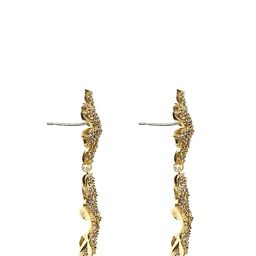 Pave Blossom Drop Earrings   Vince Camuto