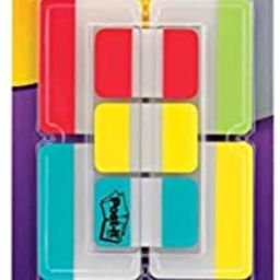 Post-it Tabs Value Pack, Assorted Primary Colors, Durable, Writable, Repositionable, Sticks Secur... | Amazon (US)