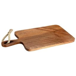 Mascot Hardware Paddle Shaped Wooden Cutting Board with Tied Rope   The Home Depot