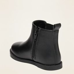 Side-Zip Chelsea Boots for Toddler Girls   Old Navy (US)
