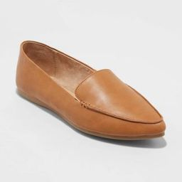 Women's Micah Pointed Toe Loafers - A New Day™ | Target