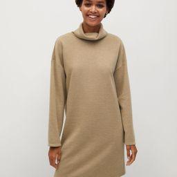 Flecked jersey dress | MANGO (US)