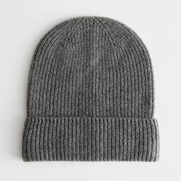 Soft Cashmere Knit Beanie   & Other Stories