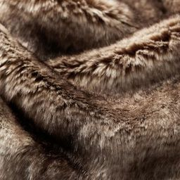 Faux Fur Ombre Throws   Pottery Barn (US)