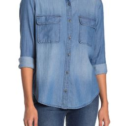 Two Pocket Chambray Shirt (Regular & Petite) | Nordstrom Rack