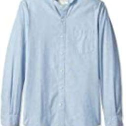 Goodthreads Men's Slim-Fit Long-Sleeve Band-Collar Chambray Shirt, -blue, XX-Large | Amazon (US)