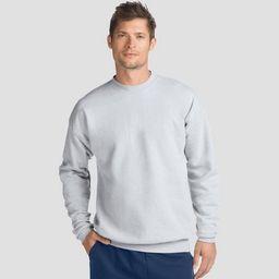 Hanes Men's EcoSmart Fleece Crew Neck Sweatshirt | Target