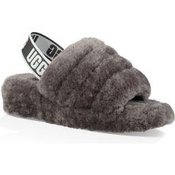 Fluff Yeah Genuine Shearling Slingback Sandal   Nordstrom