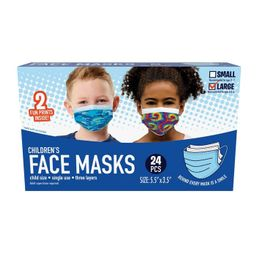 Just Play Kid's Face Mask - L - 24pc | Target