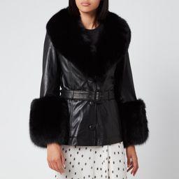 Saks Potts Women's Shorty Coat - Black   Coggles (Global)
