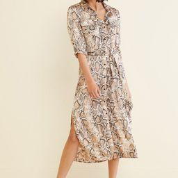 Python Print Shirt Dress   Evereve