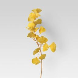 "26"" Artificial Gingko Leaf Stem - Opalhouse™   Target"