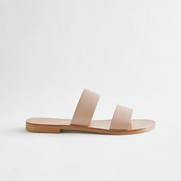 Duo Strap Leather Sandals   & Other Stories