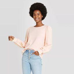 Women's Puff Sleeve Sweatshirt - Universal Thread™ | Target