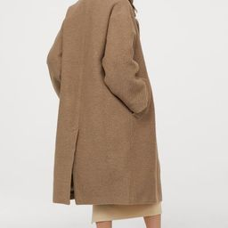 Wool-blend twill coat | H&M (UK, IE, MY, IN, SG, PH, TW, HK)