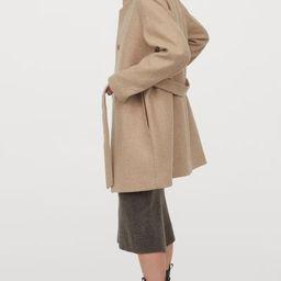 Wool-blend coat | H&M (UK, IE, MY, IN, SG, PH, TW, HK)