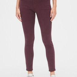 Soft Wear Mid Rise True Skinny Ankle Jeans in Color   Gap (US)