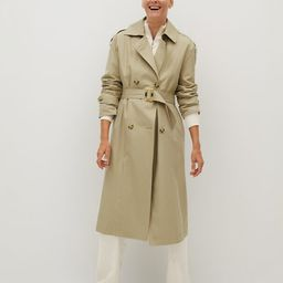 Classic belted trench | MANGO (UK)