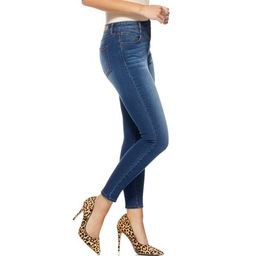 Sofia Jeans by Sofia Vergara Rosa Curvy High Waist Double Button V-Yoke Jeans | Walmart (US)