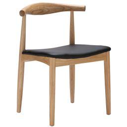 Poly & Bark Keren Dining Chair in Natural   Walmart (US)