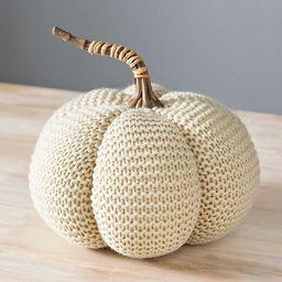 New!Cream Sweater Pumpkin | Kirkland's Home