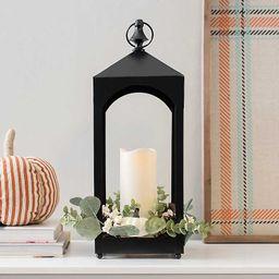 Pre-Lit LED Harvest Lantern with Pumpkins | Kirkland's Home