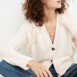 Chatterton Fringe Cardigan Sweater | Madewell