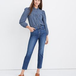 Stovepipe Jeans in Antoine Wash   Madewell