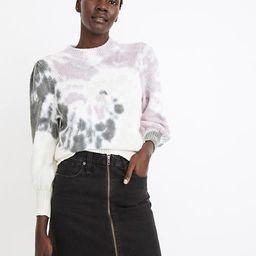 Rigid Denim A-Line Mini Skirt in Lunar Wash   Madewell