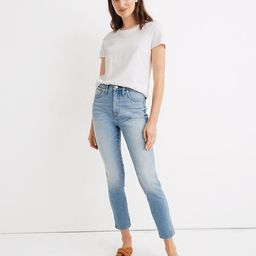 """10"""" High-Rise Skinny Crop Jeans in Horne Wash   Madewell"""