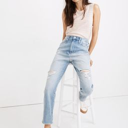 The Momjean in Gilford Wash: Ripped Edition   Madewell