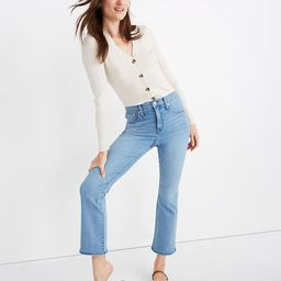 Tall Cali Demi-Boot Jeans in Connolly Wash: Coolmax® Denim Edition   Madewell