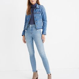 """10"""" High-Rise Skinny Jeans in Hamden Wash   Madewell"""