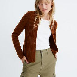 Merritt Shrunken Cardigan Sweater | Madewell