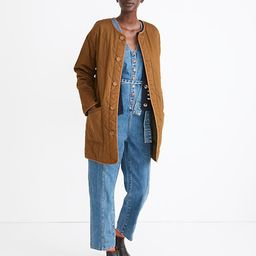 Reversible Quilted Liner Jacket | Madewell