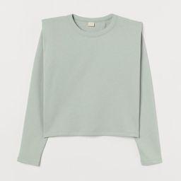Shoulder-pad Sweatshirt | H&M (US)