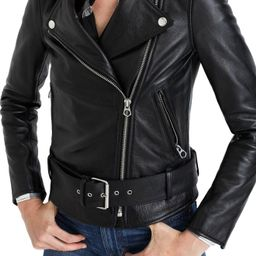 Women's Madewell Ultimate Leather Jacket, Size X-Large - Black   Nordstrom