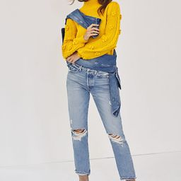 EDWIN Cai Ultra High-Rise Straight Jeans   Anthropologie (US)