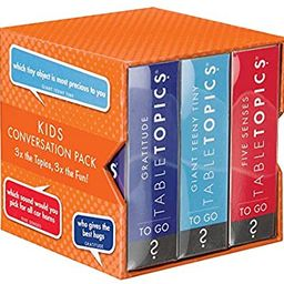 TableTopics to GO Kids Conversation Pack | Amazon (US)