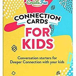 Conversation Starter Connection Cards for Kids and Parents - 101 Questions for Family Time, Deep ... | Amazon (US)