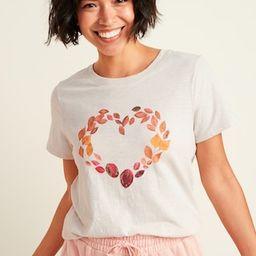 EveryWear Graphic Slub-Knit Tee for Women   Old Navy (US)