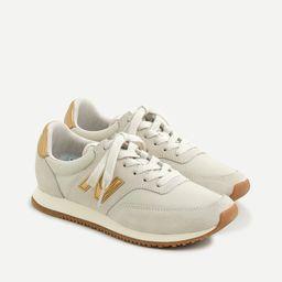 New Balance® X J.Crew Comp 100 sneakers in gold salt   J.Crew US