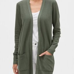 Longline Cardigan Sweater   Gap Factory