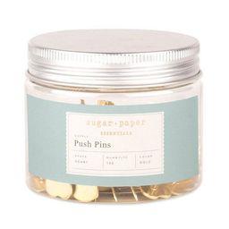 150ct Heart Shaped Push Pins - Gold - Sugar Paper Essentials™ | Target