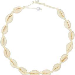 POPCHOSE Cowrie Shell Choker Necklace,Natural Puka Seashell Necklace Vsco Boho Hawaiian Summer Be... | Amazon (US)