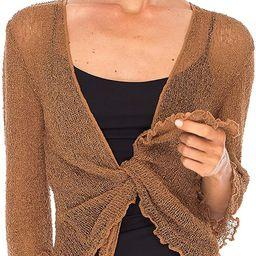 SHU-SHI Womens Sheer Shrug Tie Top Open Front Cardigan Lightweight Knit | Amazon (US)
