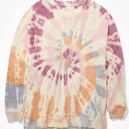 AE Forever Oversized Crew Neck Sweatshirt | American Eagle Outfitters (US & CA)