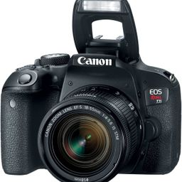 Canon EOS T7i DSLR Camera with 18-55mm IS STM Lens + 2 x 32GB Card + Accessory Kit | Amazon (US)