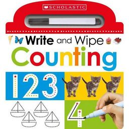 Write and Wipe Counting (Vol 3) (Hardcover) (Scholastic Inc.) | Target