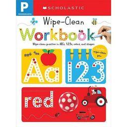Wipe Clean Workbooks, Pre-Kindergarten ( Scholastic Early Learners) (Paperback) by   Scholastic I... | Target